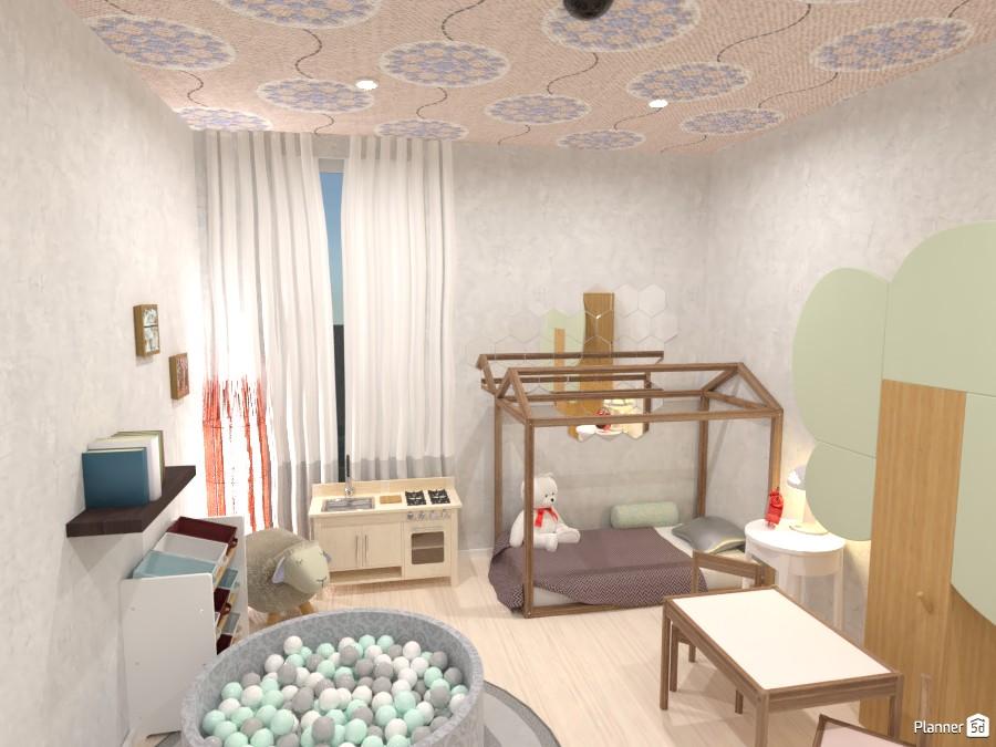 Kid's Bedroom 4239541 by yves image