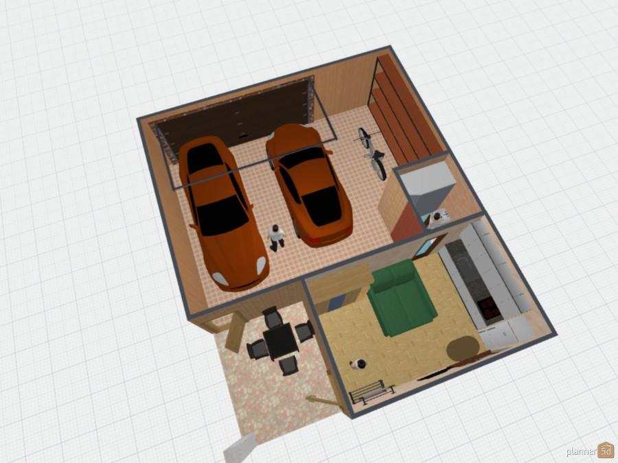 Гостевой дом с гаражом 62858 by Slava38 image