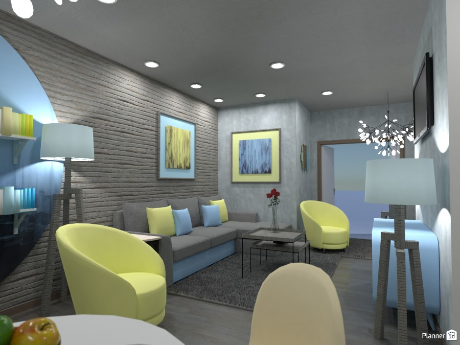 Living room, Render 1 3603803 by Designer (doggy) image