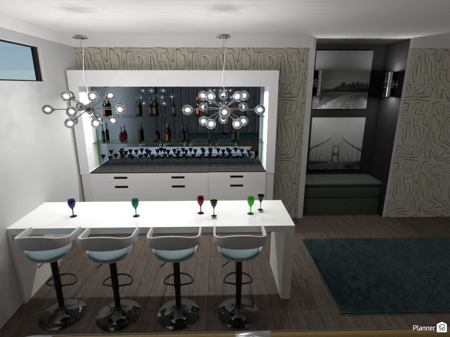 Bar in bonus room 3904335 by Alston image