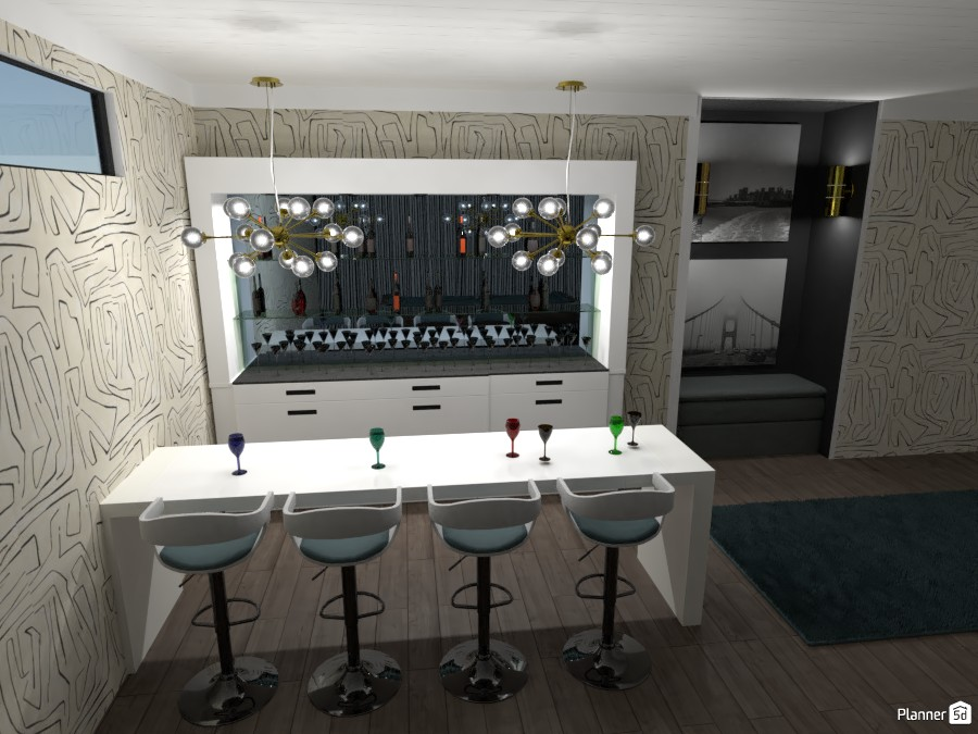 Bar in bonus room 3905374 by Alston image