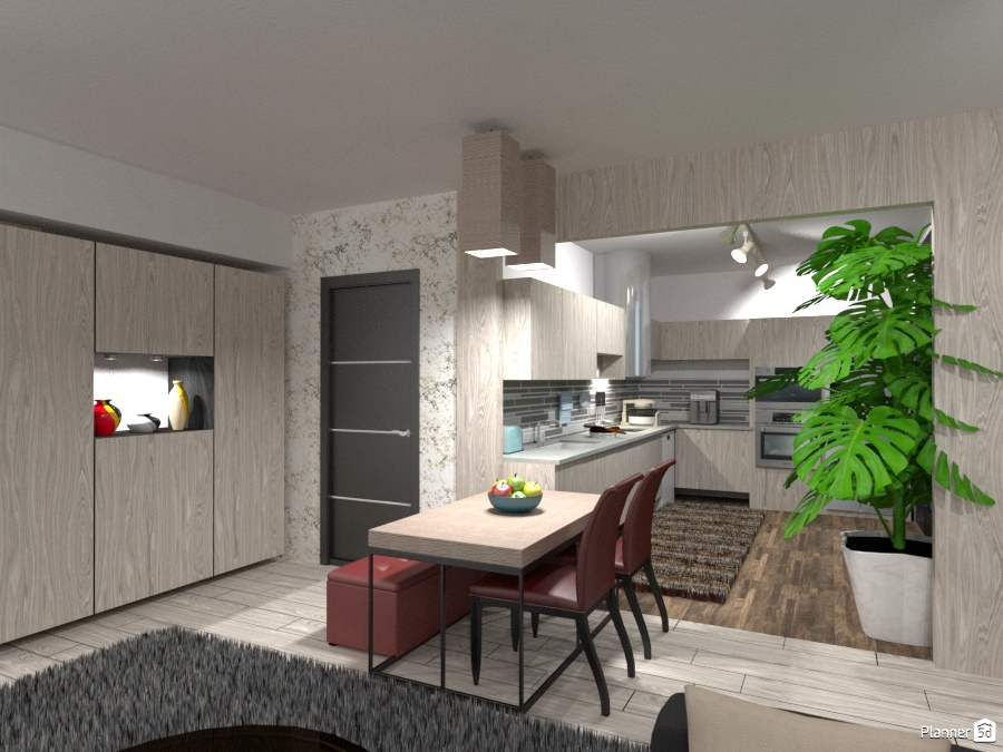 Prova Cucina #2 - Living room ideas - Planner 5D