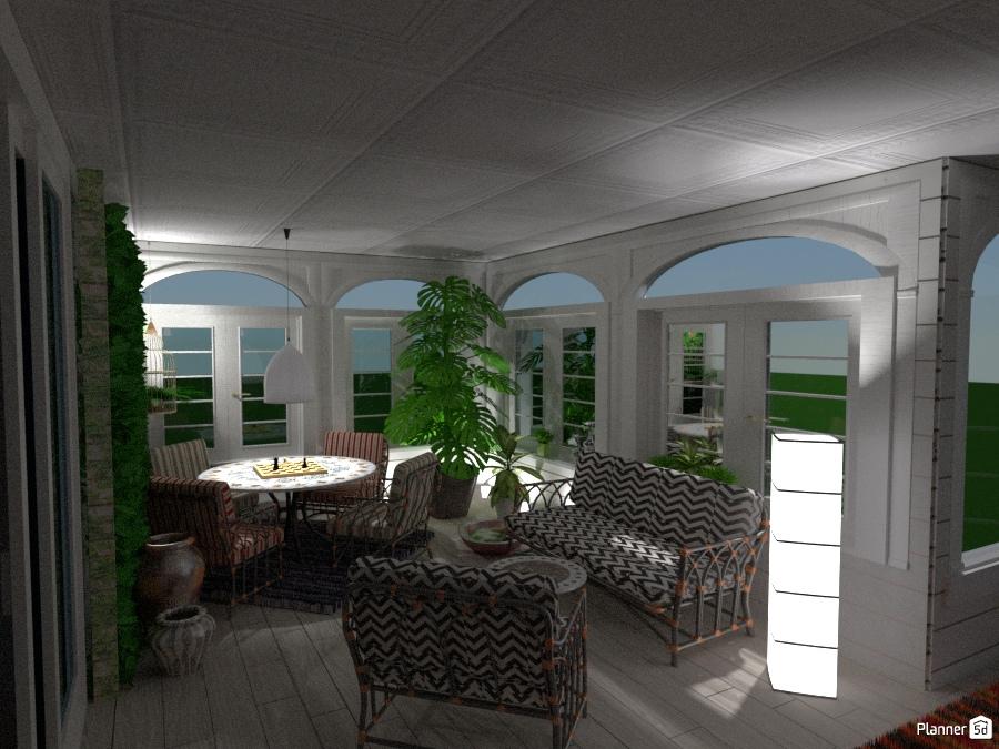 Prova Veranda #3 - Free Online Design | 3D House Ideas - Moonface by Planner 5D