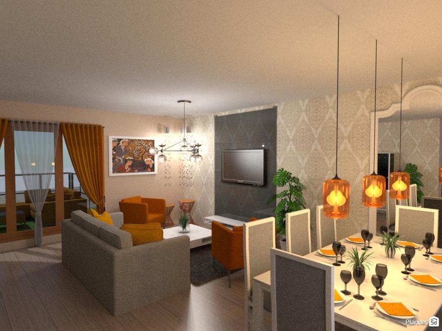 Living Room Ideas Para Apartamentos Planner 5d