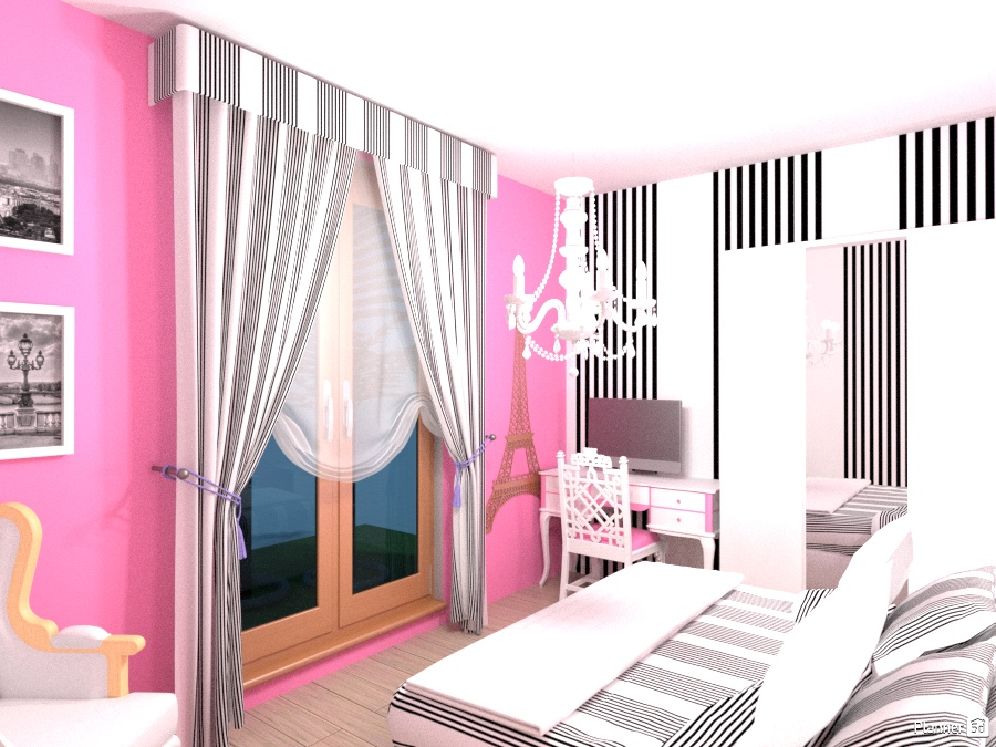 Pink ROOm - Apartment ideas - Planner 5D