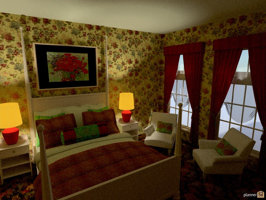 Colorful Bedroom 877739 by Cynthia Patillo image