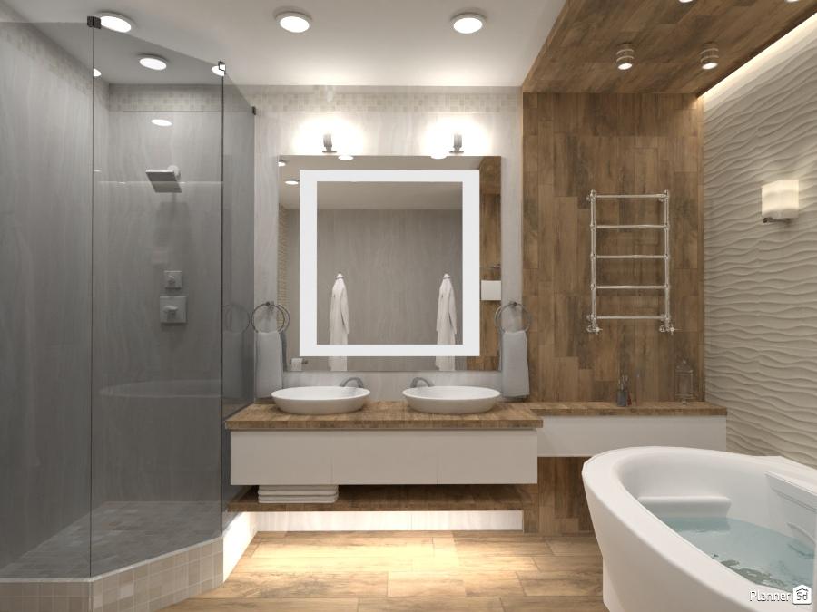 Idee Arredo Bagno Fai Da Te : Ванная в частном доме apartment ideas planner 5d