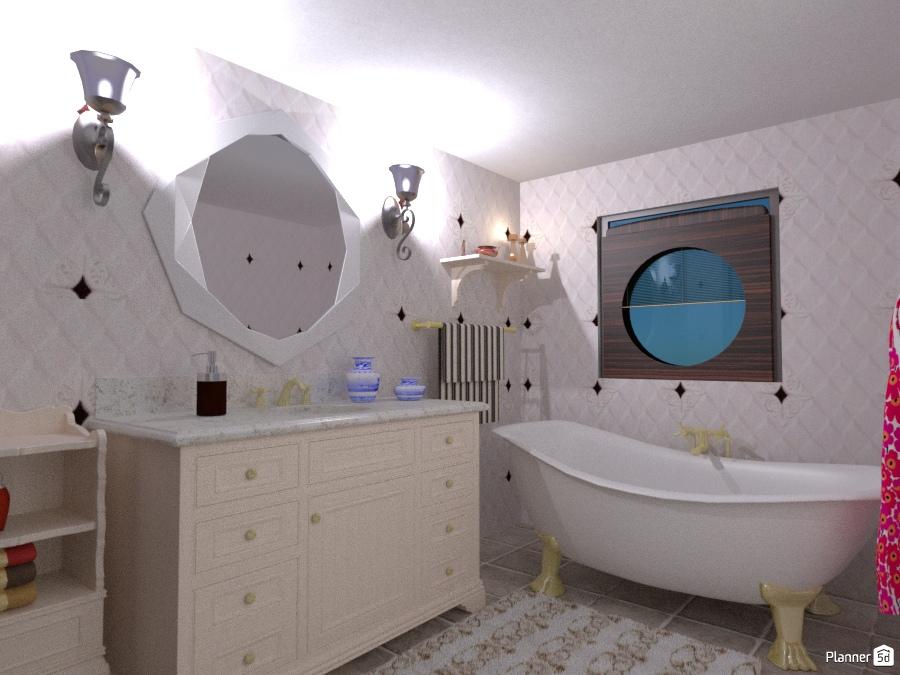 Bathroom house ideas planner 5d for Bathroom design 5d