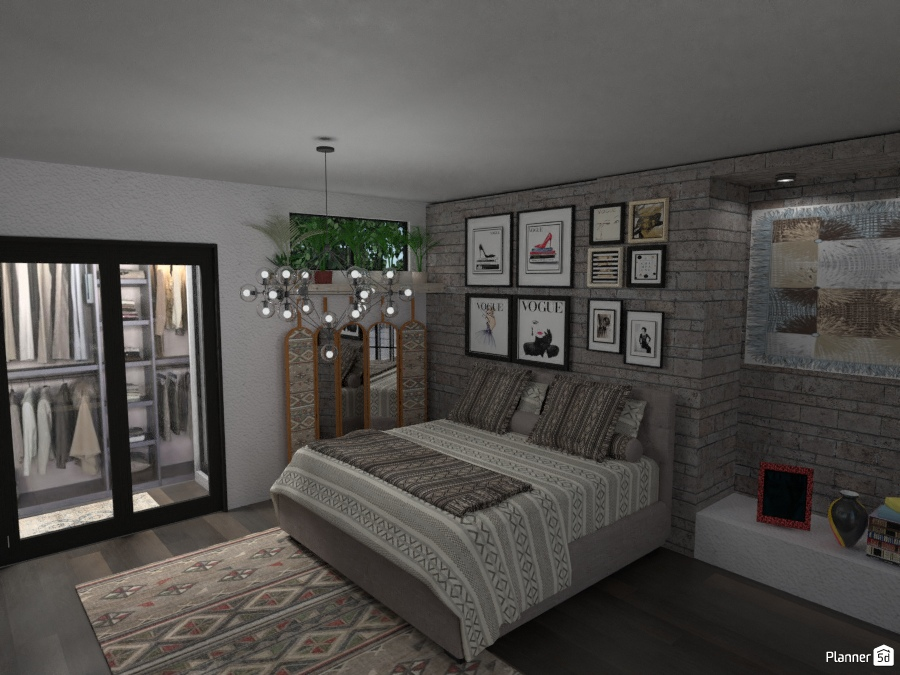 Vogue Style Bedroom 2805081 by Micaela Maccaferri image