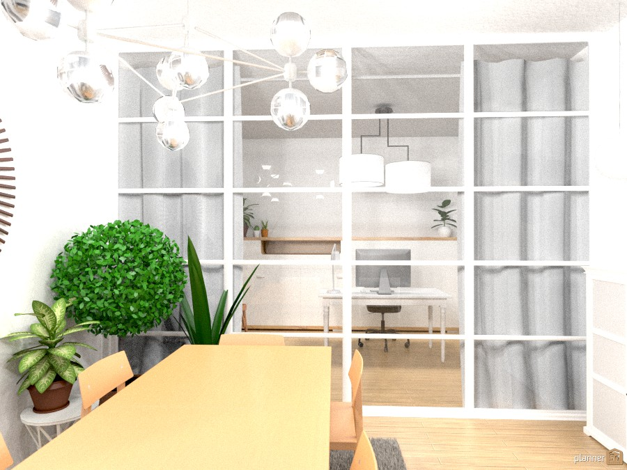 Dinning room and office 1267165 by Ariadna image