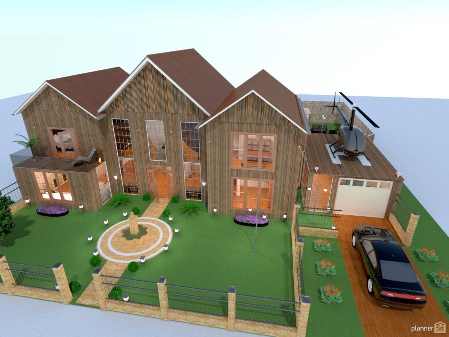 Planner 5d home design for pc mi futura casa d house ideas for Home design 5d