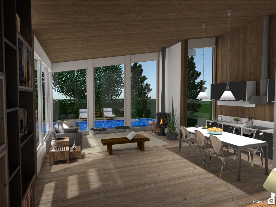 Casa Moderna No Campo Ideas Para Casas