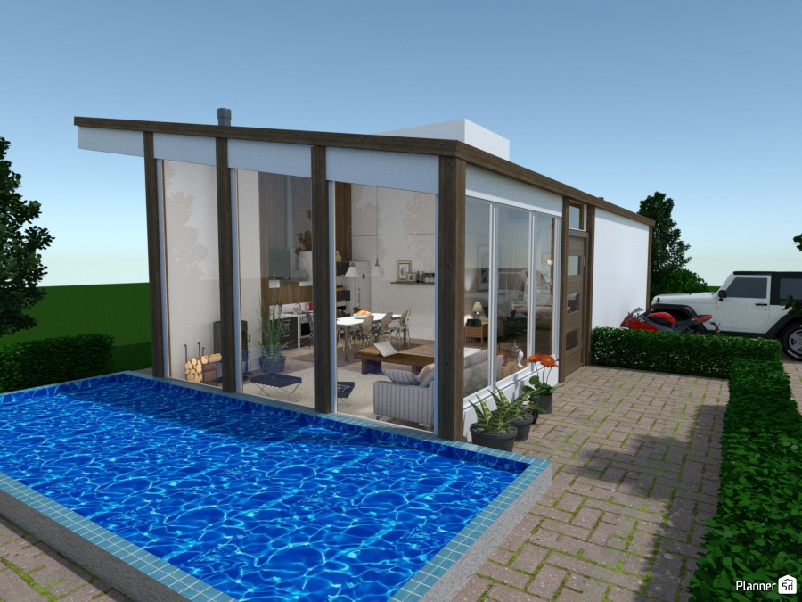 Casa moderna no campo idee per case indipendenti planner d