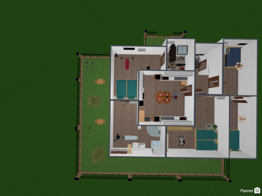 בית עם 3 קומות! עבודה של חודשים! 81100 by (מי שיצביע לי אני אצביע לו! בלי נדר!!! (לביא image