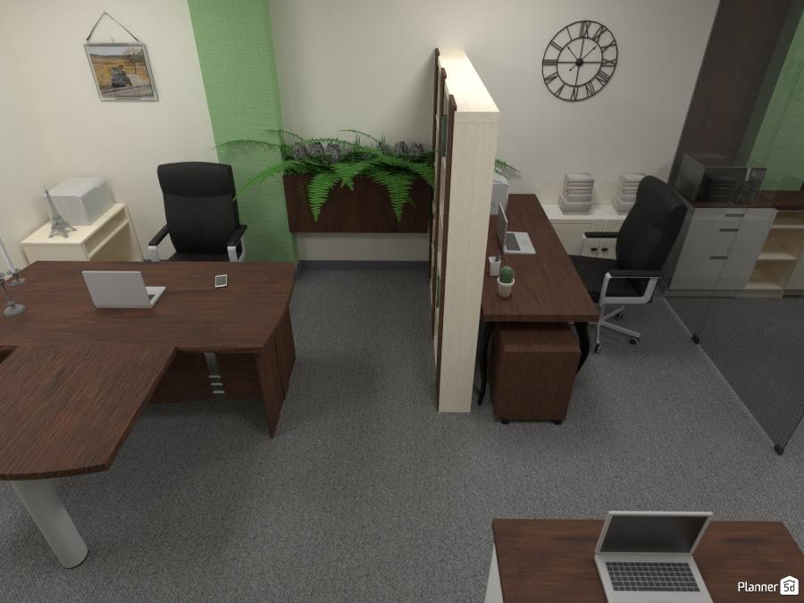 дизайн офиса Ideas Para Apartamentos Planner 5d