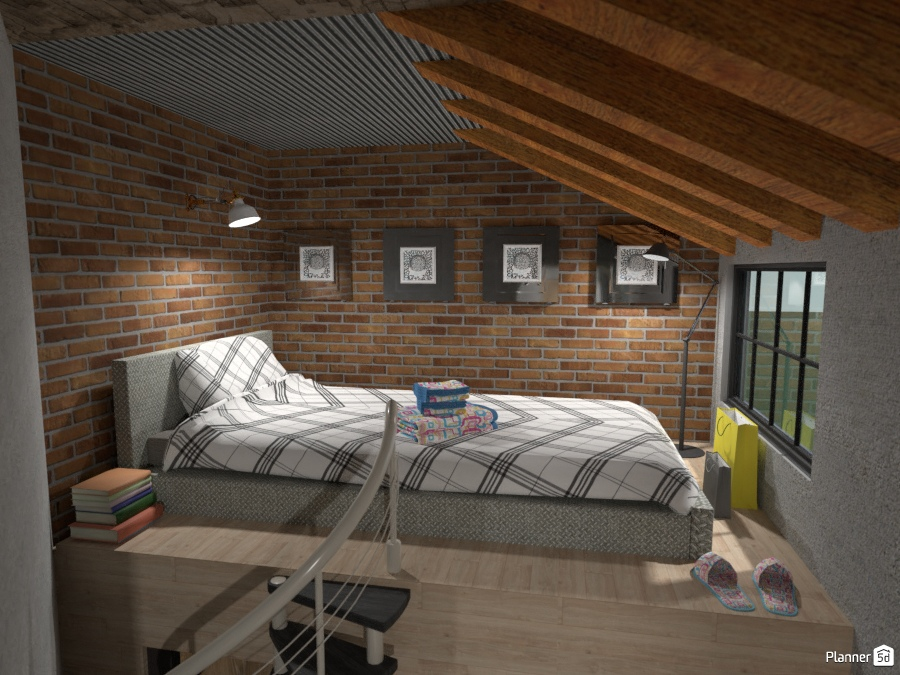 Soppalco: particolare - House ideas - Planner 5D