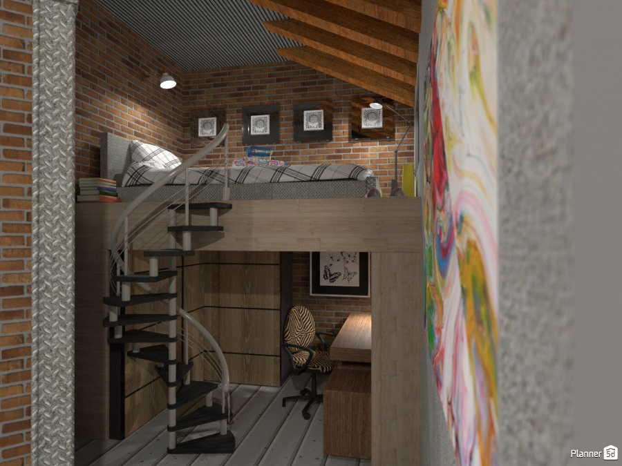 Soppalco - Idee per case indipendenti - Planner 5D