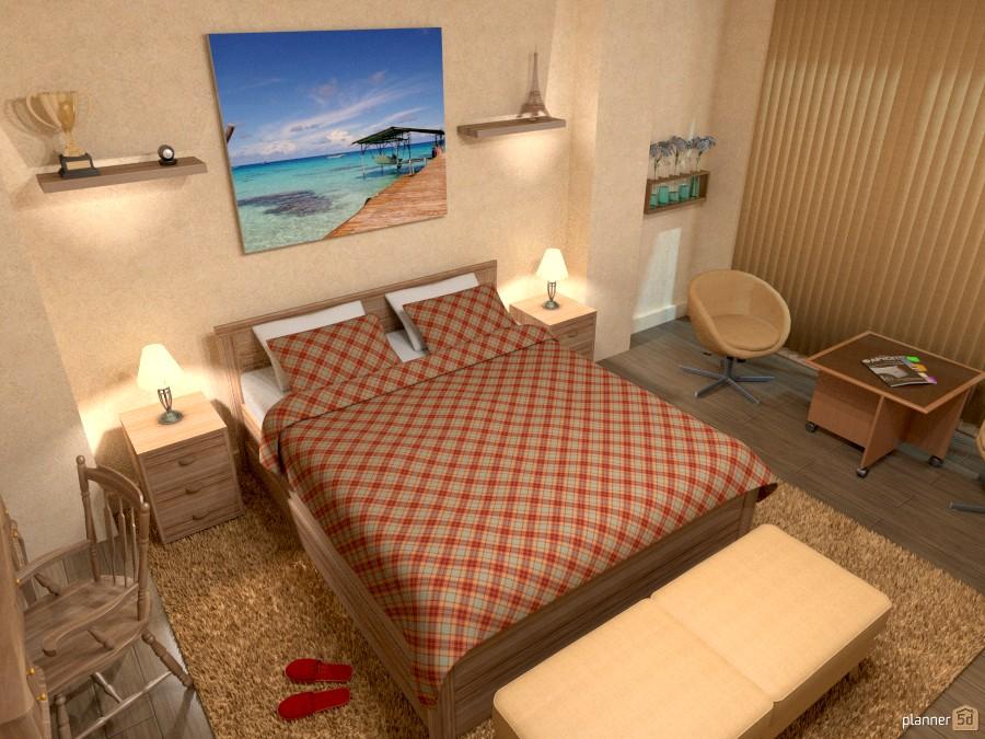 Спальня / Bedroom 253986 by Sergey Nosyrev image