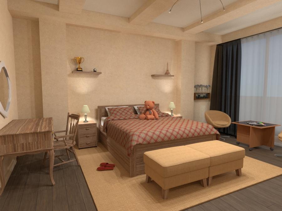 Bedroom 2707507 by Sergey Nosyrev image