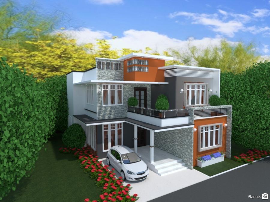 Modelo Casa Dos Plantas House Ideas Planner 5d