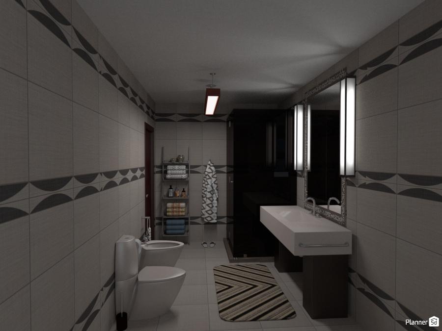 50 mq bagno apartment ideas planner 5d - Planner bagno 3d ...