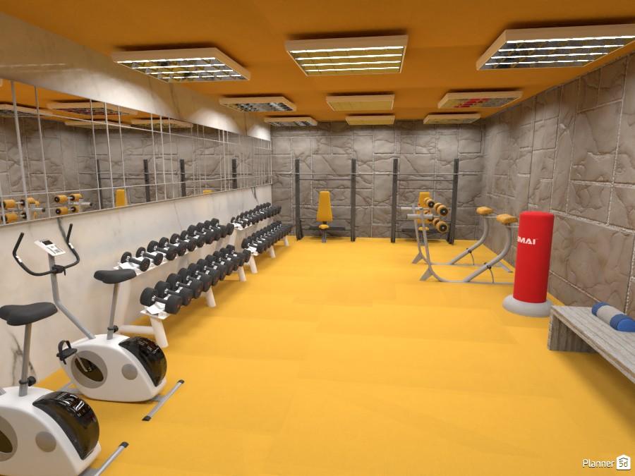 Gym interior 3728602 by Nikolas image