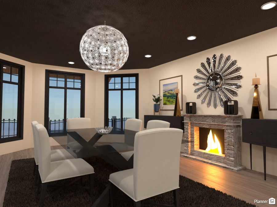 Dining Room 3986443 by tiffbrant image