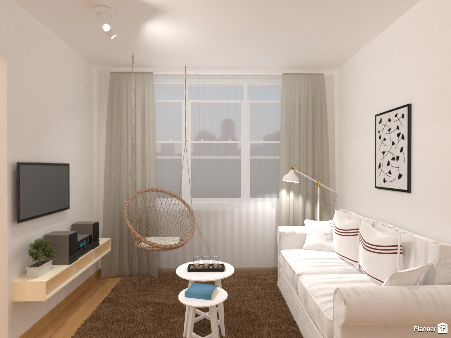 Cute small apartment / Living room 3979689 by Lucija Marko image