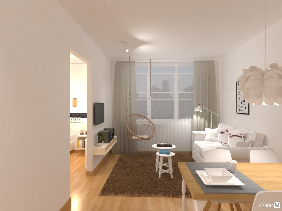 Cute small apartment 84724 by Lucija Marko image