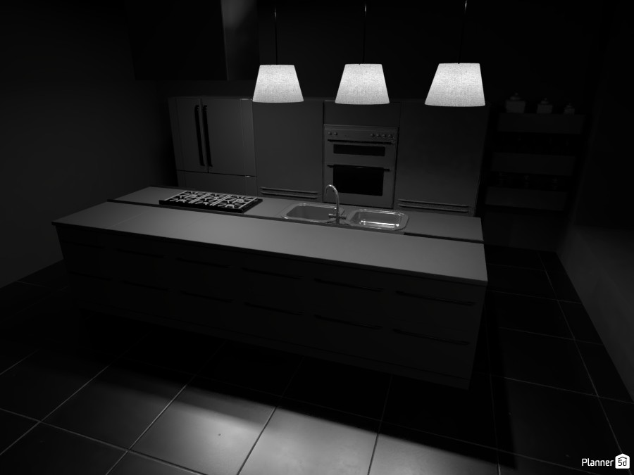 Super Dark Kitchen 3054648 by ESK image