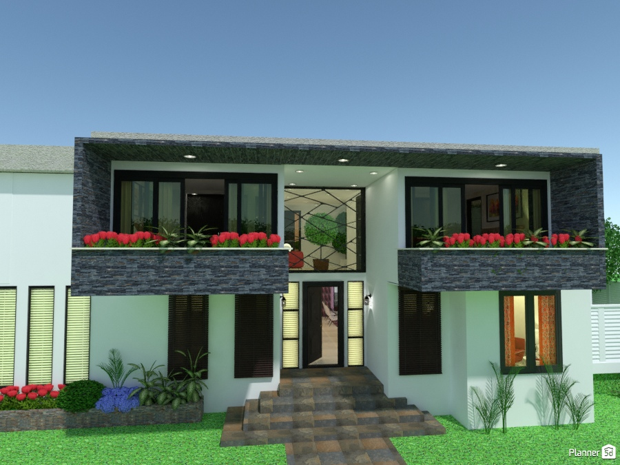 Casa De Dos Plantas Ideas Para Casas