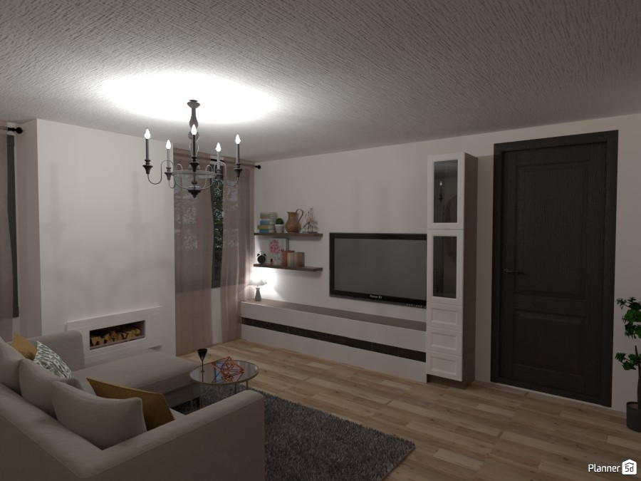 Cozy Living Room -- My Dream House 3953085 by Isabel image