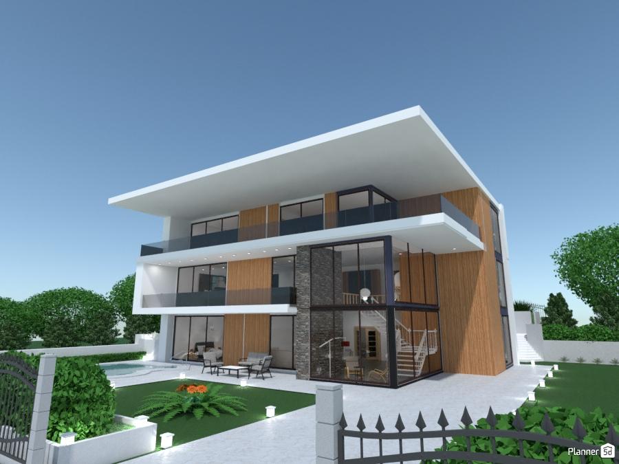 Modern house 2082858 by Evelinaa image
