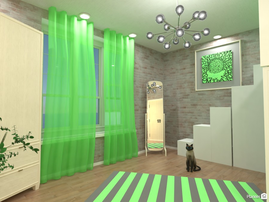 Green bedroom, Render 1 3669680 by Doggy (please vote) image