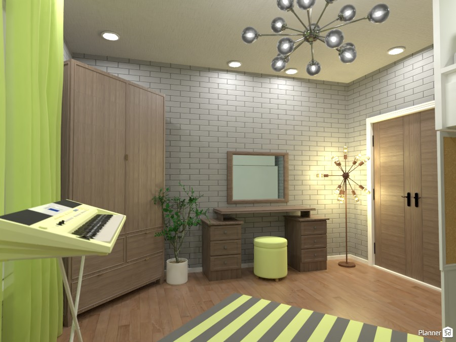 Yellow bedroom 3669684 by Designer (doggy) image