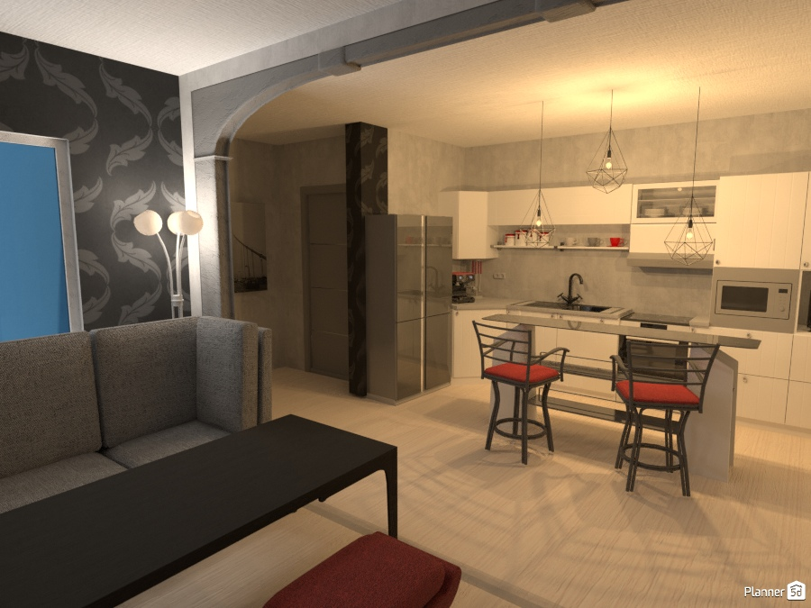 ideas house living room kitchen dining room ideas