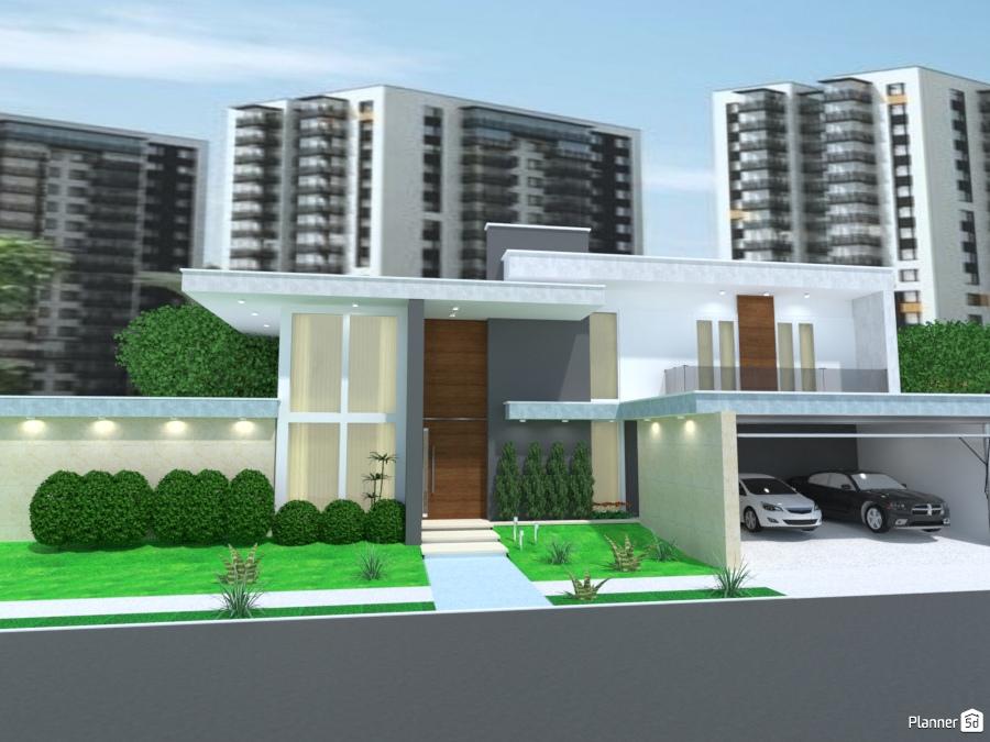 Architettura Case Moderne Idee.Casa Moderna Xvi Idee Per Case Indipendenti Planner 5d