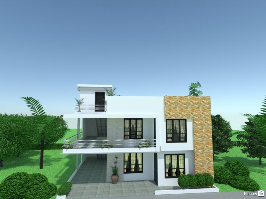 edificio de dos pisos ideas para apartamentos planner 5d