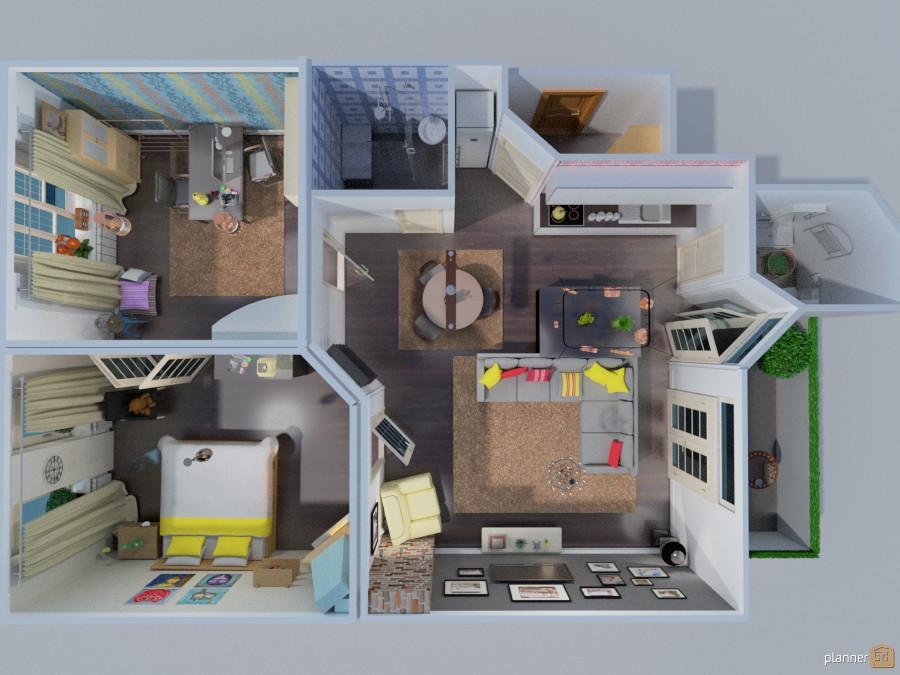 Owlsome apartment 266295 by Katerina Sokorenko image