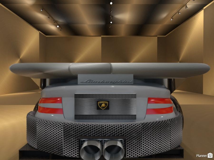 Exotic car/Lamborghini back view 2321683 by Jason image
