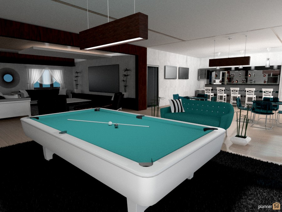 Pool Room Furniture Ideas view in gallery gorgeous drum pendants are a perfect fit for the space above the pool table indulge your Ideas House Furniture Decor Living Room Lighting Household Ideas
