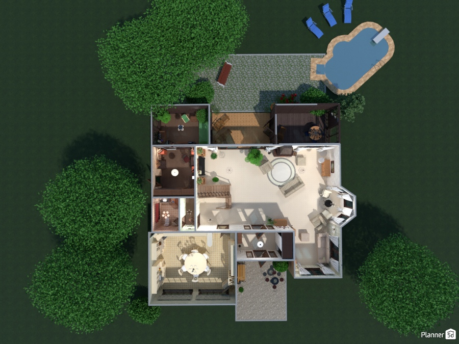 ideas house landscape ideas