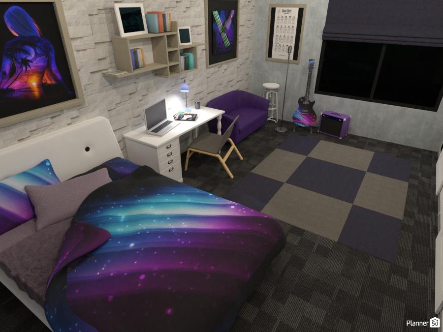 Teenage girls room - House ideas - Planner 5D