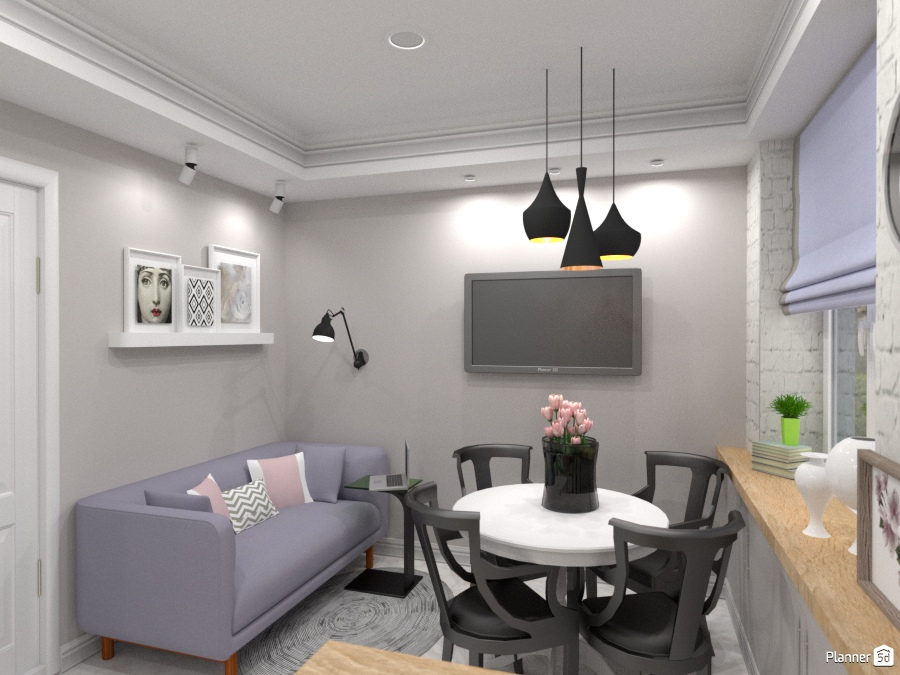 ideas apartment furniture living room kitchen lighting renovation household dining room ideas