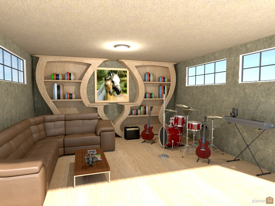 basement music room 949682 by Joy Suiter image