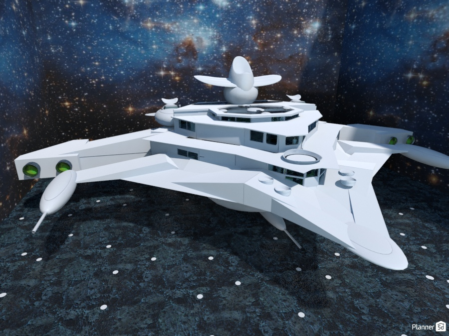 Space Yacht (Fantasy) 2668562 by Burgess Hodges image