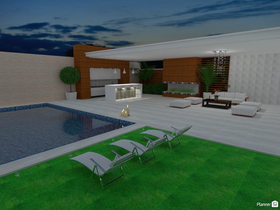 ideas para terrazas Terraza Con Piscina Ideas Para Terrazas Planner 5D