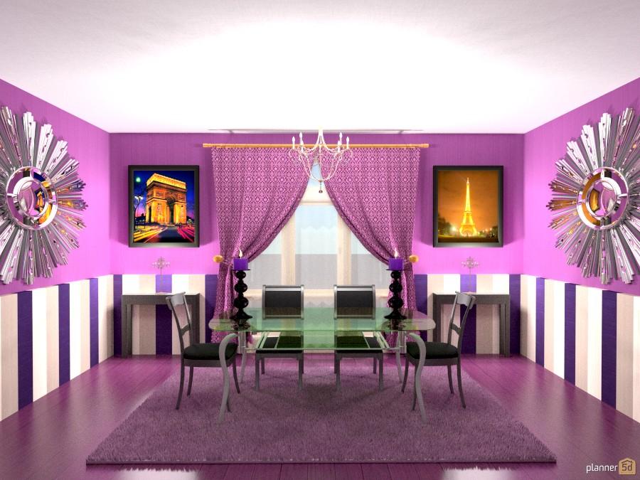 Black and purple - Furniture ideas - Planner 5D