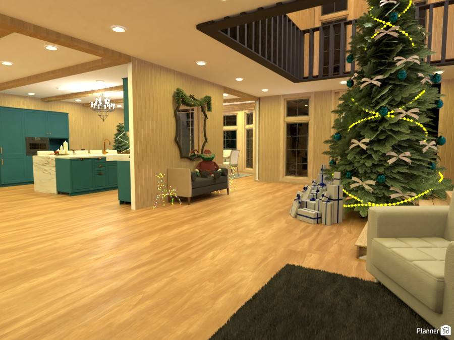 Moutain House Christmas Edition 3791121 by M SECK image