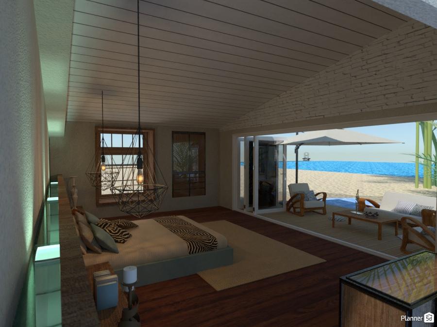 Luxury Bedroom: Beach 2434346 by Devil image